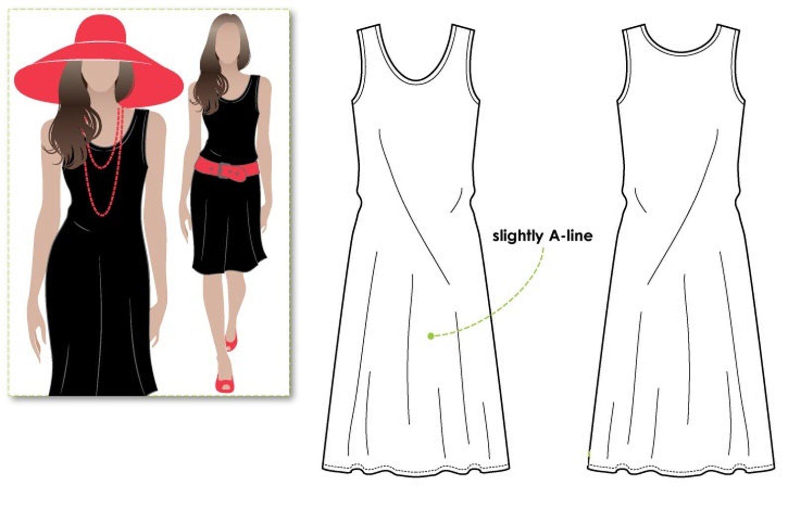 Style Arc Cruise Club Kim Dress Pattern