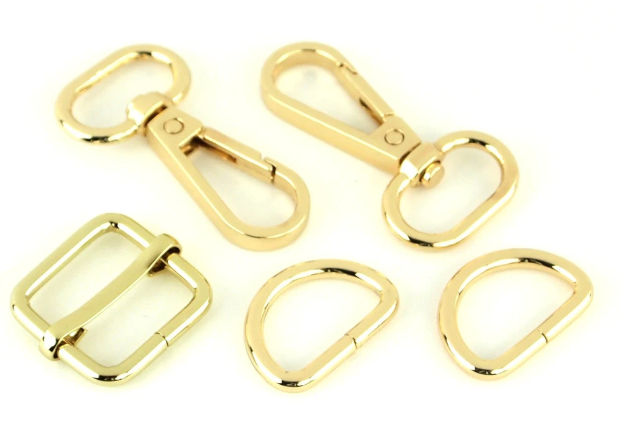 Sallie Tomato Basic Hardware Kit 3/4 - Gold