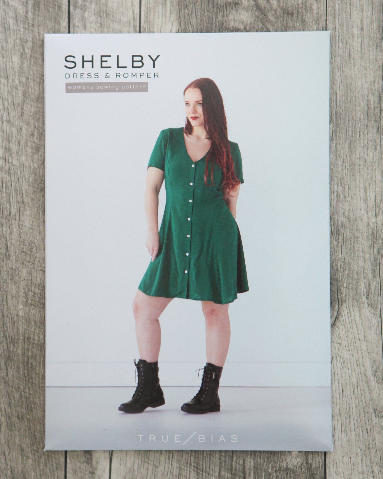 True Bias Shelby Dress / Romper Paper Pattern