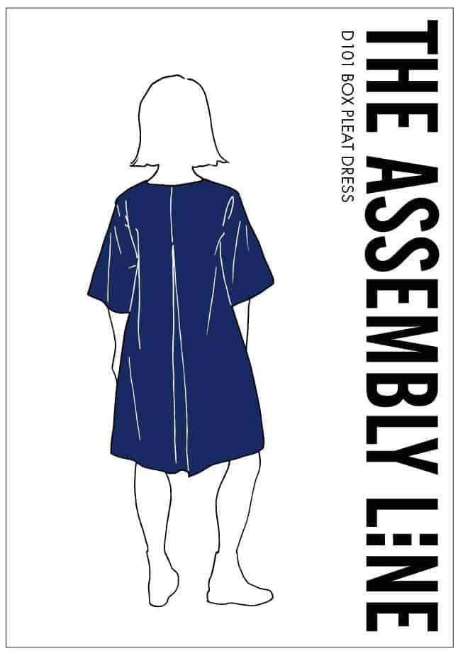 The Assembly Line Box Pleat Dress Pattern