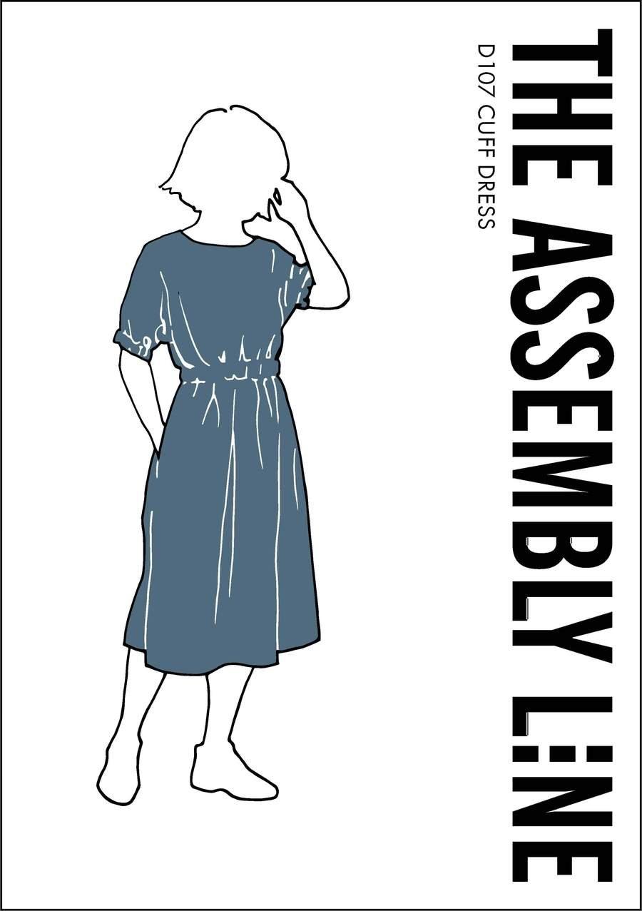 The Assembly Line Cuff Dress Pattern - Sizes XS-L or XL-3XL