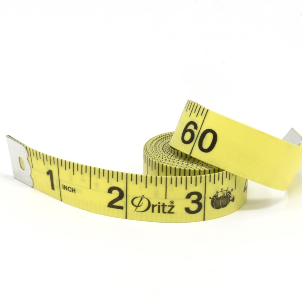 Dritz 60 Tape Measure - Yellow (Unpackaged)