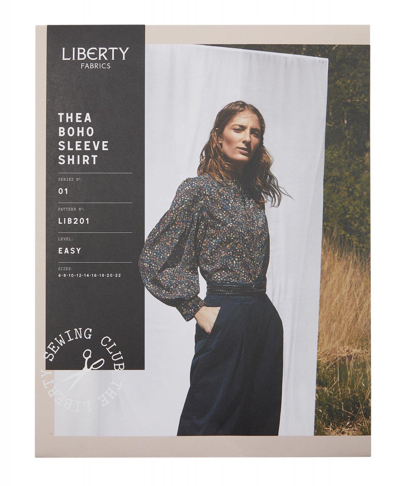 Liberty Fabrics Thea Boho Sleeve Shirt