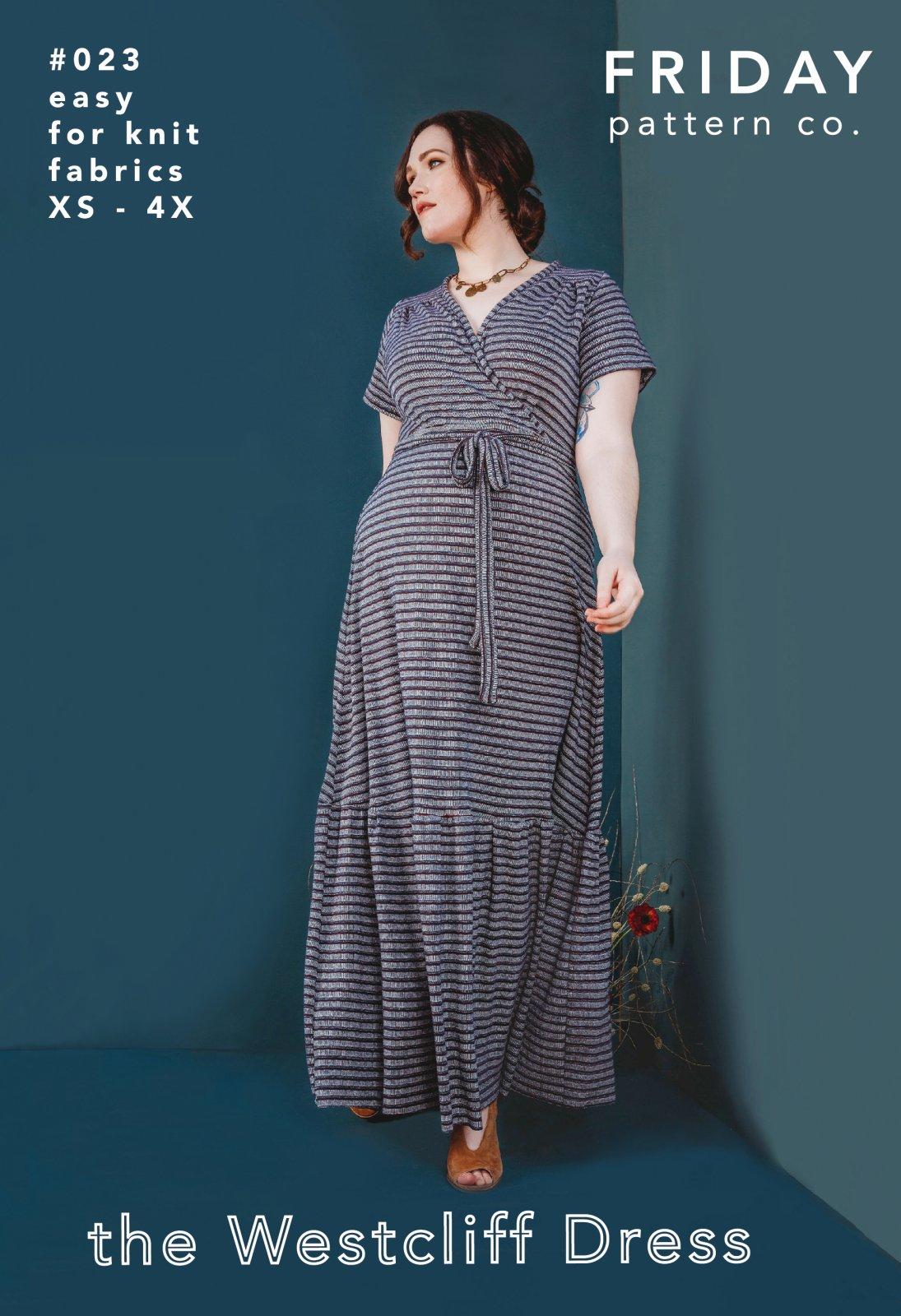 Friday Pattern Co Westcliff Dress