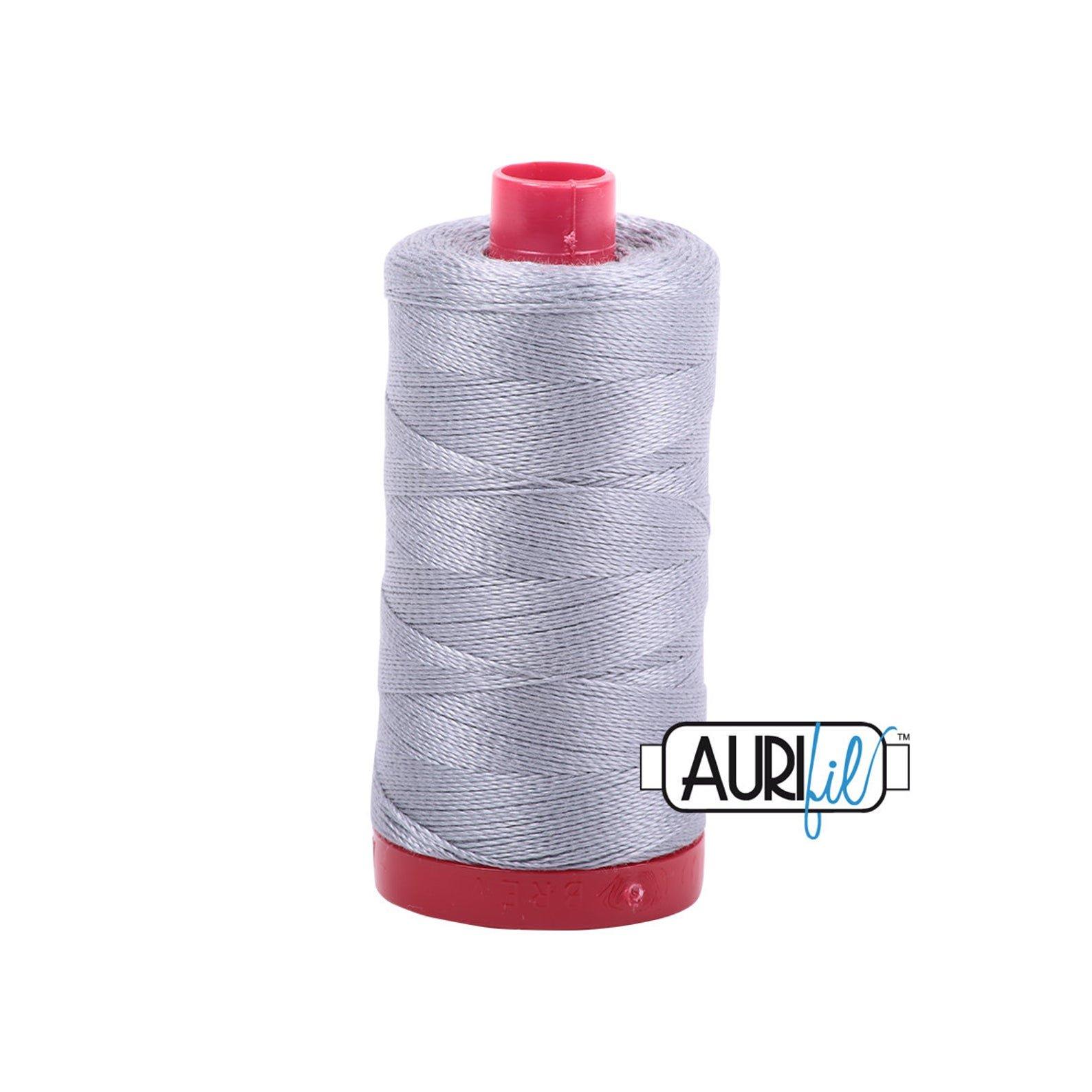 Mako Cotton Embroidery Thread 12wt 356yds Mist
