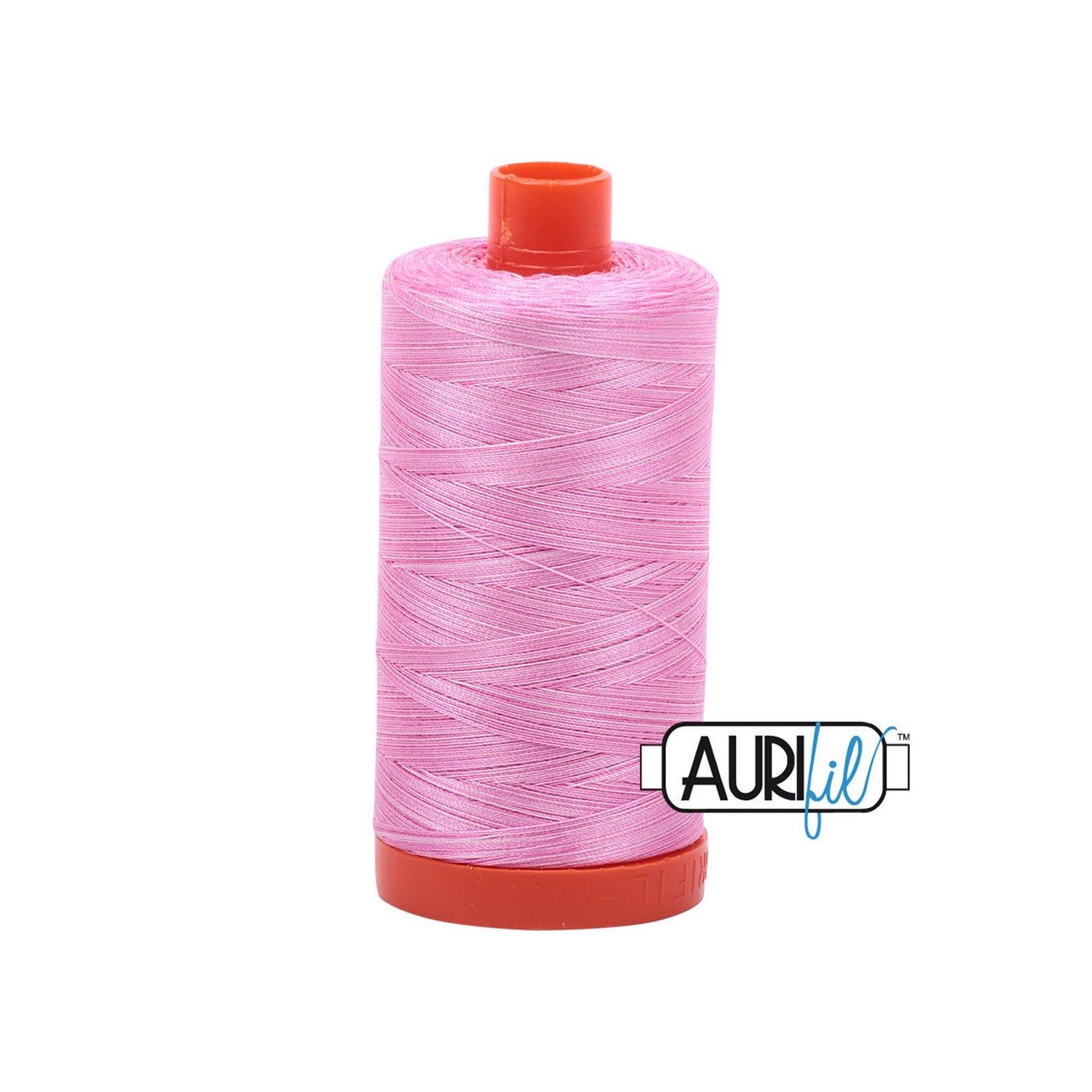 Mako Cotton Embroidery Thread 12wt 356yds Bubblegum
