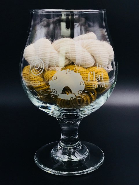Belgian-style Beer Glass