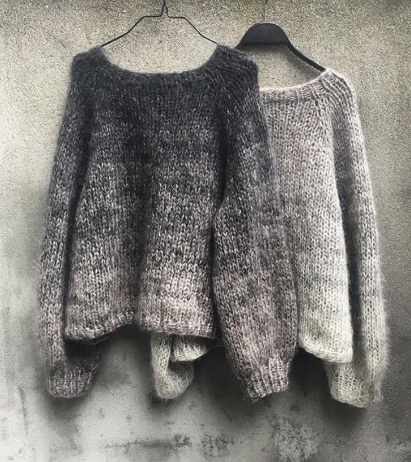 KforOlive Color Rain Sweater