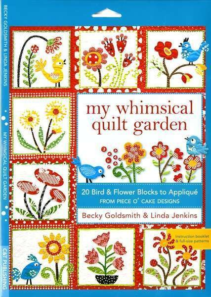 My Whimsical Quilt Garden Pattern Packet