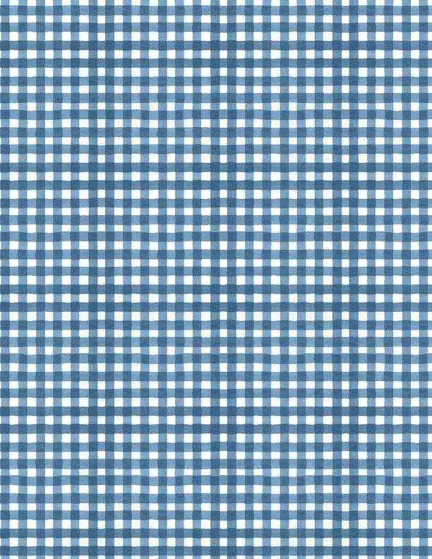 Summertime Gingham Blue