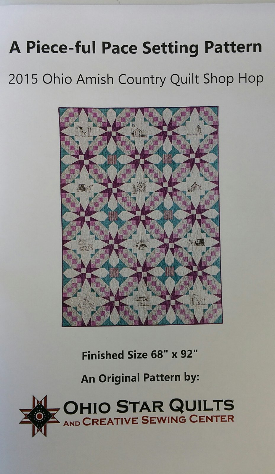 2015 Amish Country Quilt Shop Hop Setting Pattern