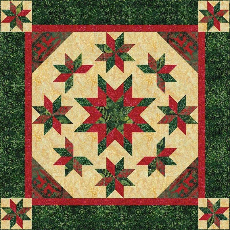 Christmas Everlasting Fabric Kit