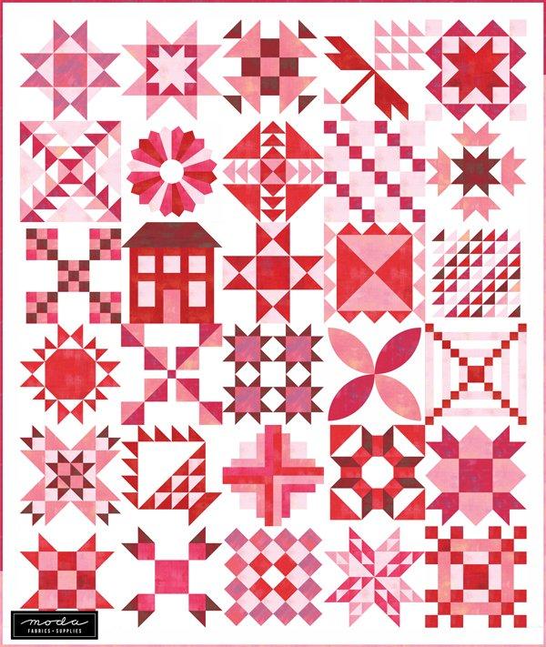 2020 Moda Stitch Pink Kit - Grunge