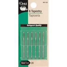 Dritz Hand Needles Tapestry Size 16 5pc