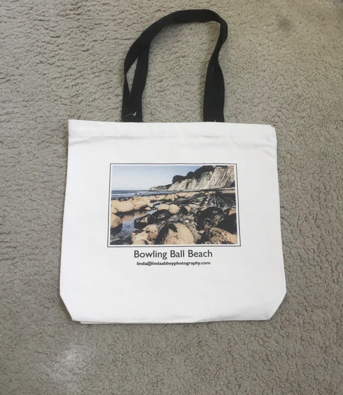 Bowling Ball Beach Canvas Bag