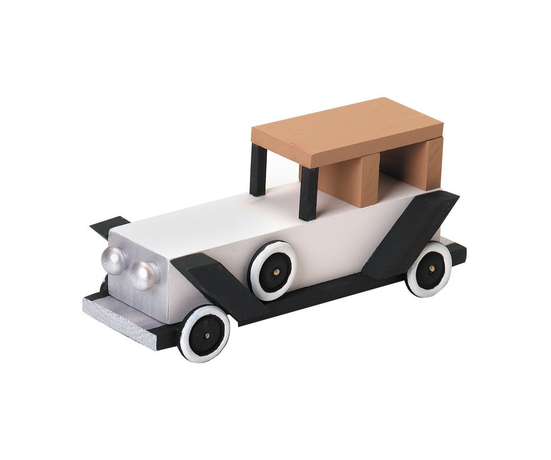 Wooden Model Kit  Antique Limo