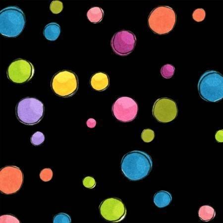 Loralie Designs Dream Dots Black