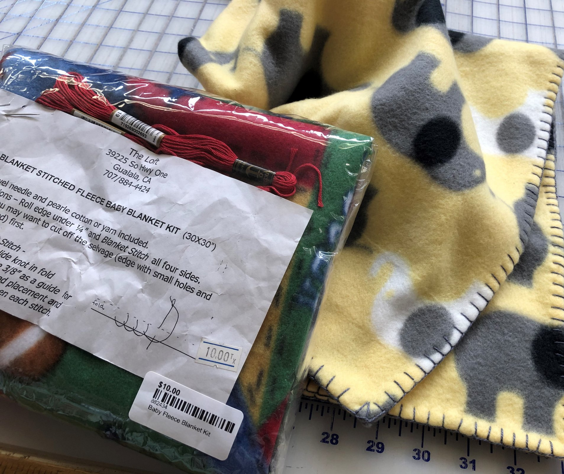 Baby Fleece Blanket Kit