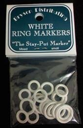 Bryson Sm Wht Ring Markers
