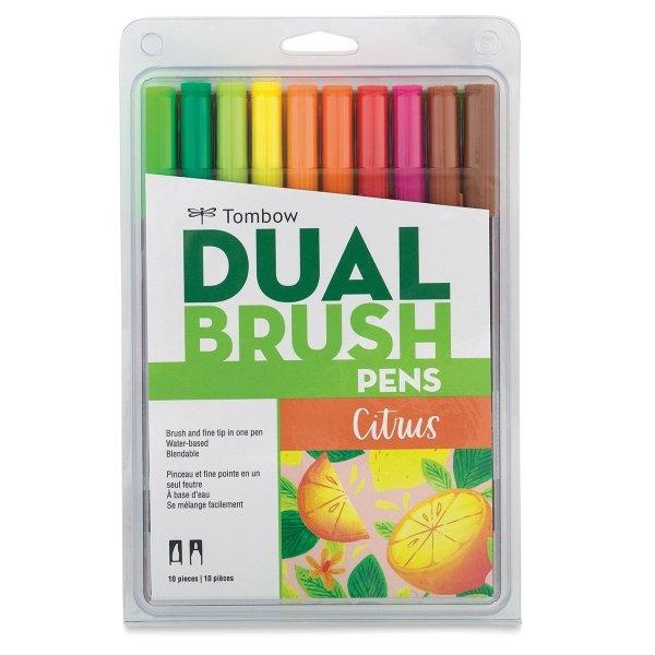 Tombow Dual Brush Set 10/Citrus