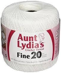 Aunt Lydias Crochet Thread