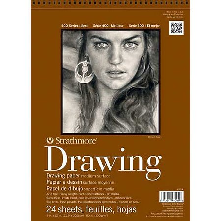Drawing Paper Pads 9 x 12  Strathmore