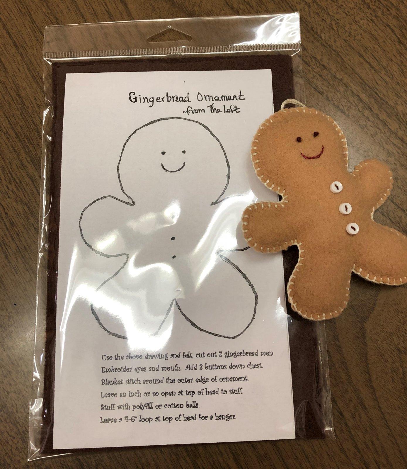 Gingerbread Ornament Kit