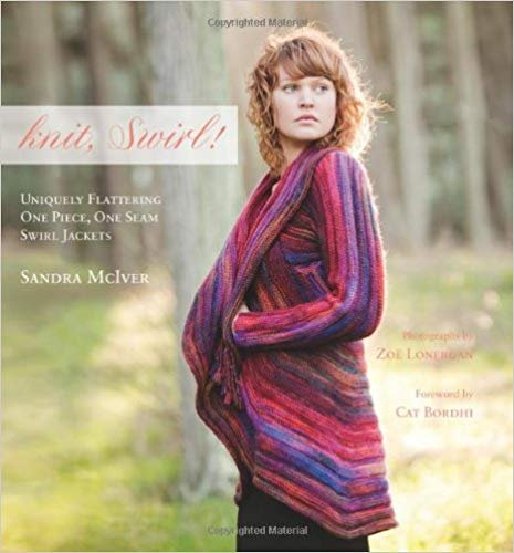 Knit, Swirl  One Piece, One Seam Swirl Jackets