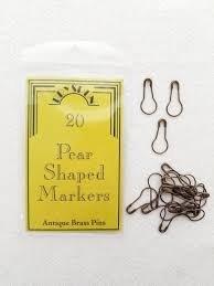 Pear Pins Stitch Markers