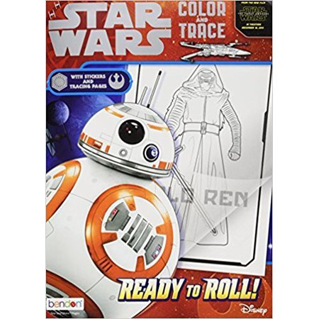 Bendon Color & Trace Star Wars Book