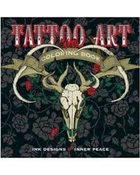 Lark Books Coloring Tattoo Art