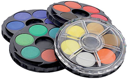 Watercolor Wheel 24 Clr Set