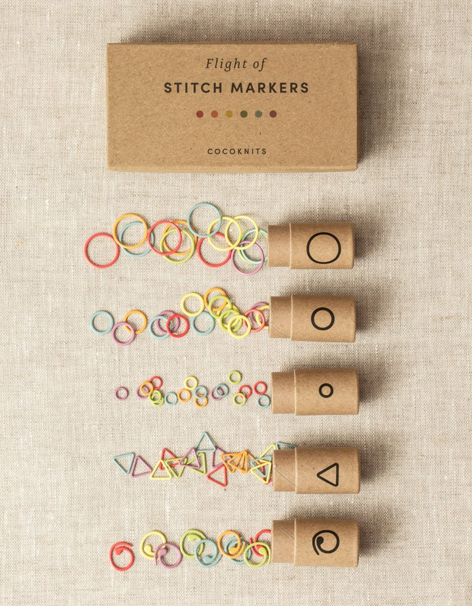 Flight of the Stitch Markers- Cocoknits