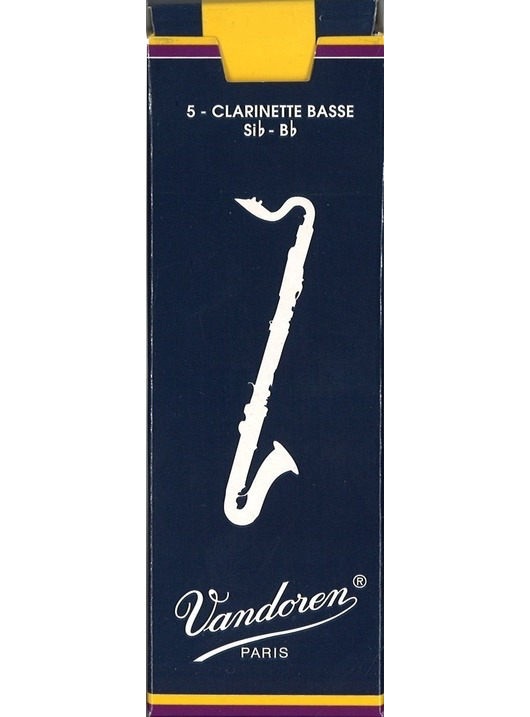 VD Bass Cl reed, Size 2.5, Box 5