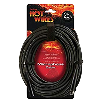 Hot Wires 25ft Mic Cable xlr-xlr