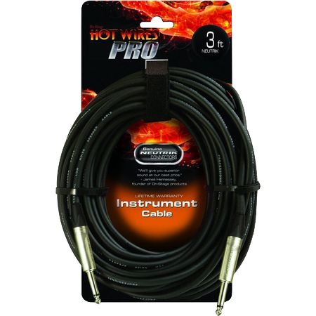 Hot Wires 3ft Instrument Cable 10796