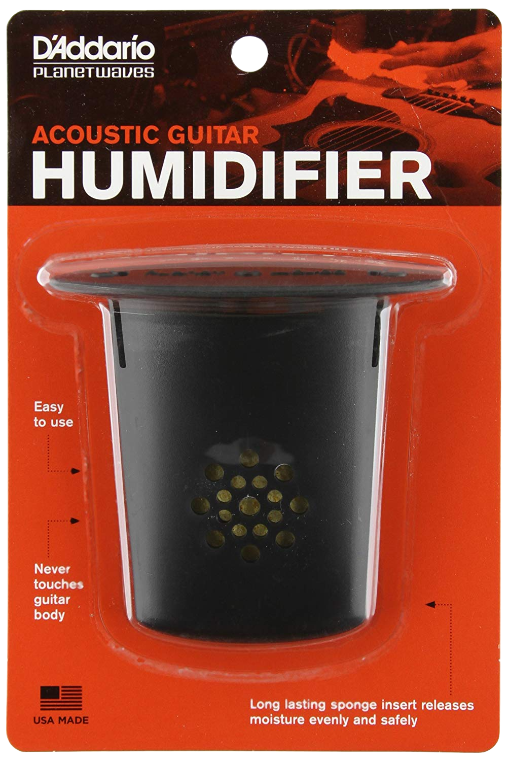 Acoustic Guitar Humidifier from D'Addario