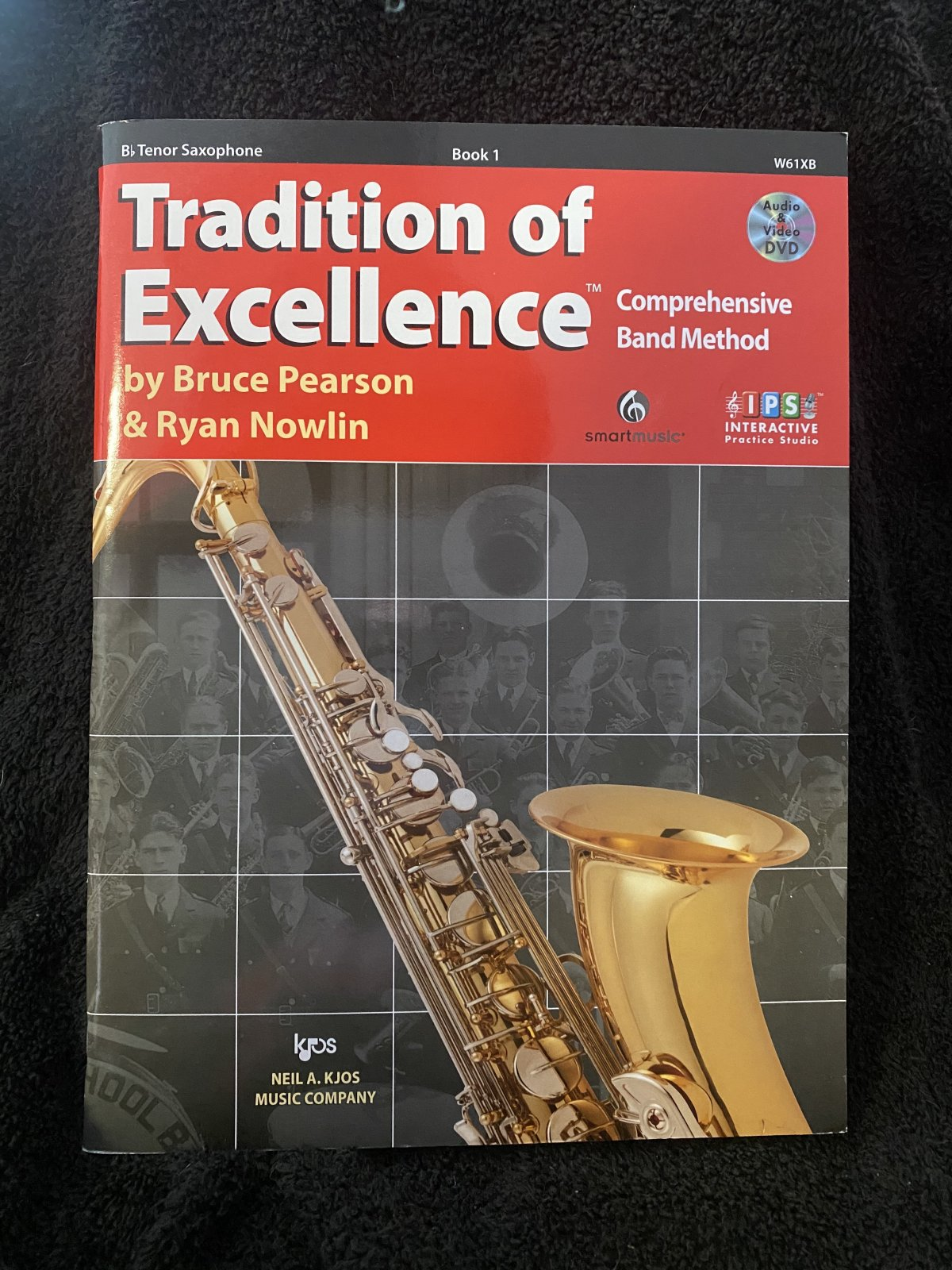Tradition of Excellence Book 1 (Tenor Sax)
