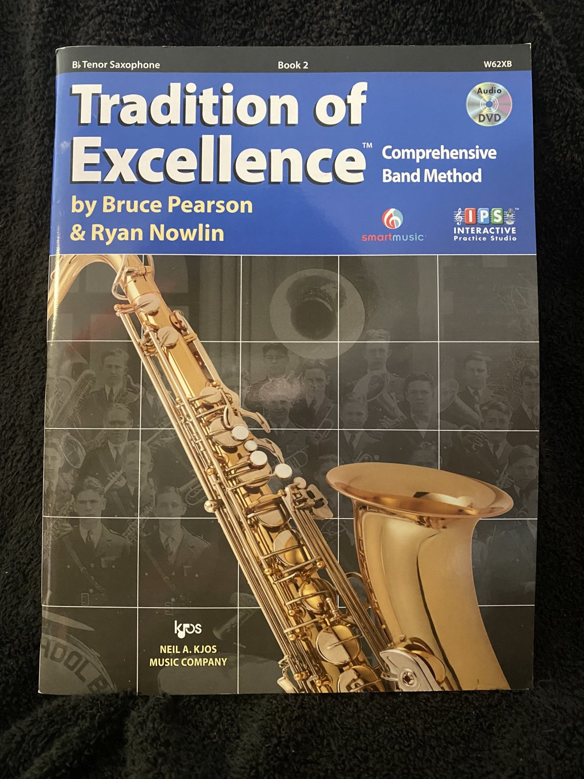 Tradition of Excellence Book 2 (Tenor Sax)