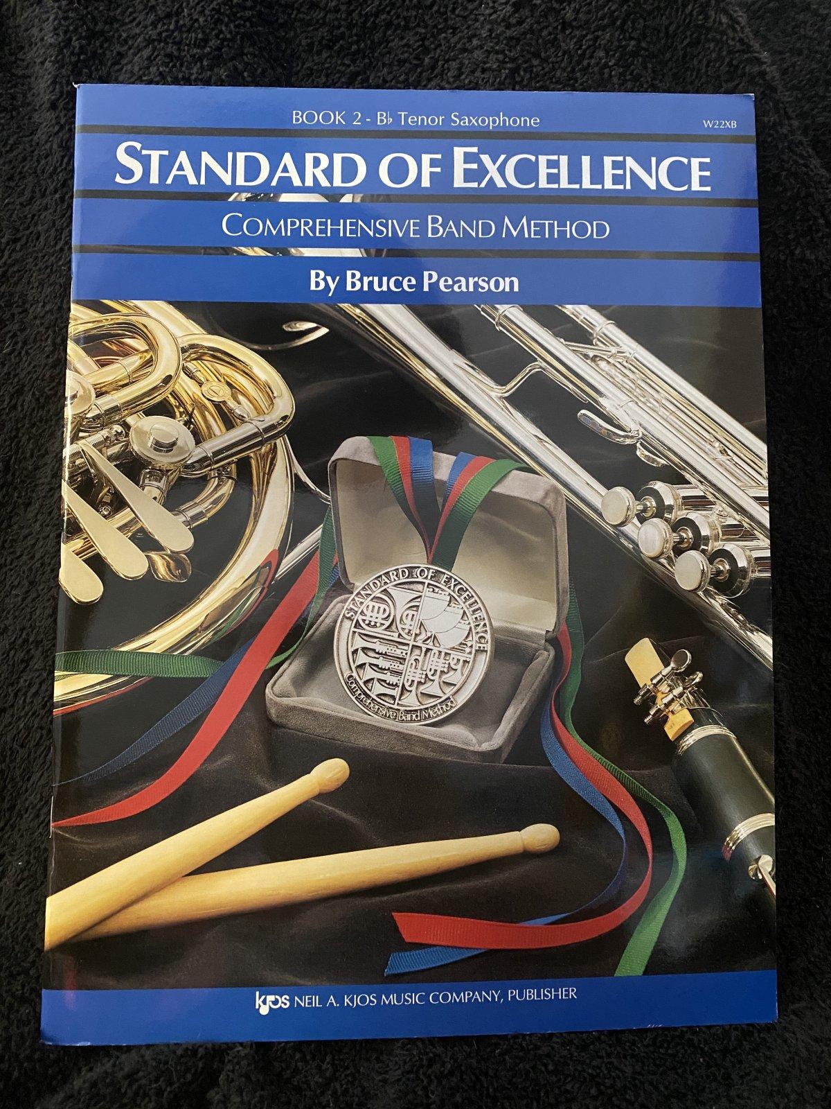 Standard of Excellence Bk 2 (Tenor Sax) SOE