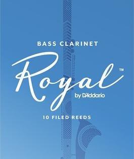 Rico Royal Bass Clarinet Reeds 3, Box 10, List $64.50