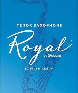 Rico Royal Tenor Sax Reeds 3.5, Box 10
