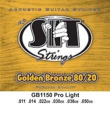 SIT Acoustic Guitar Strings, 011/.050