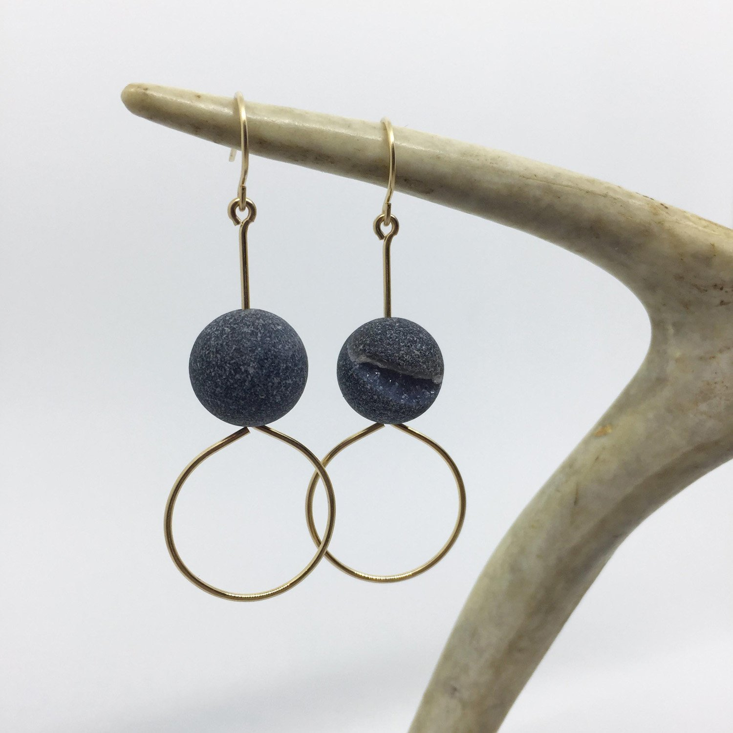 BOPBE DRUZY CRYSTALS EARRINGS