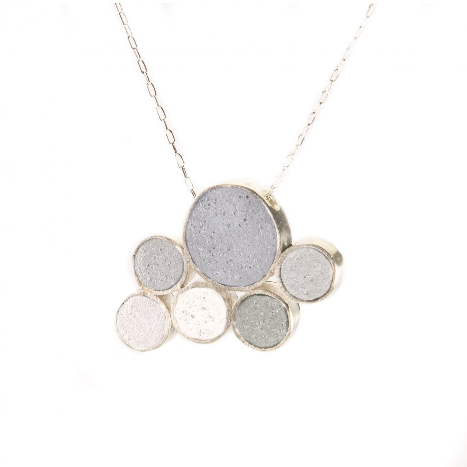 JLB Concrete Bubble Necklace