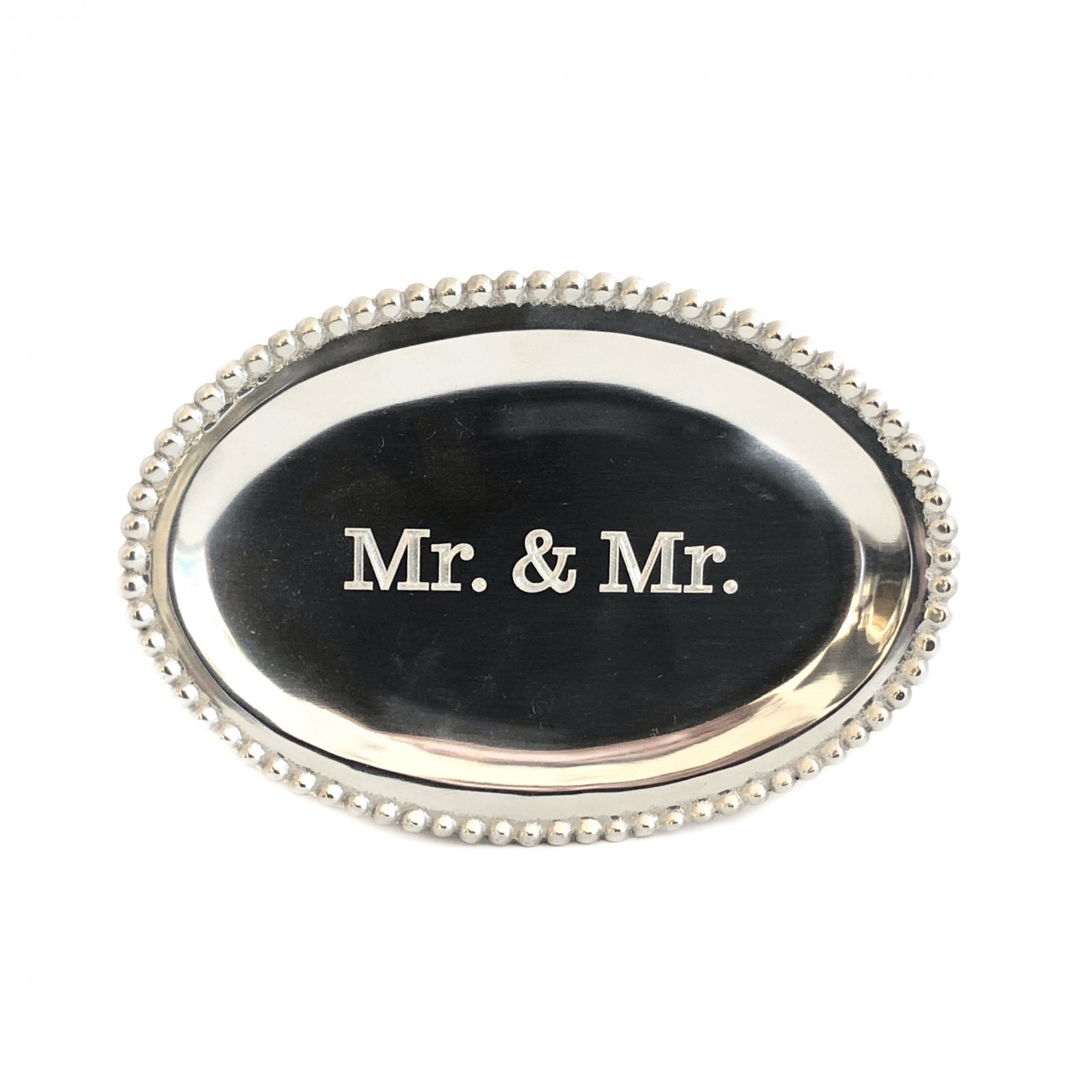 Mariposa Oval Tray - Mr & Mr