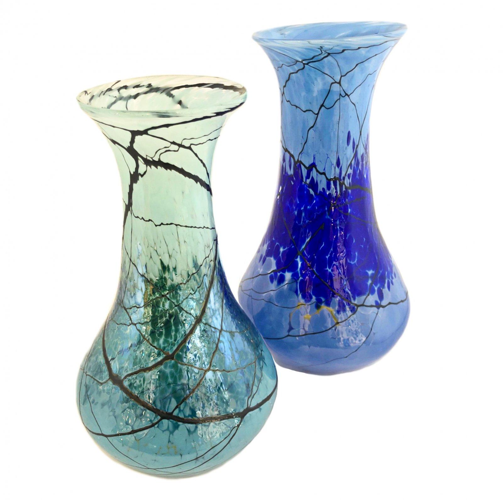 Glass Rocks Tall Jeannie Vase