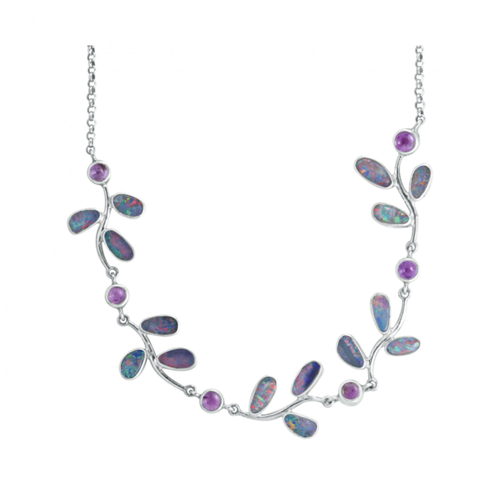 Mystical Madness Opal Vine Necklace
