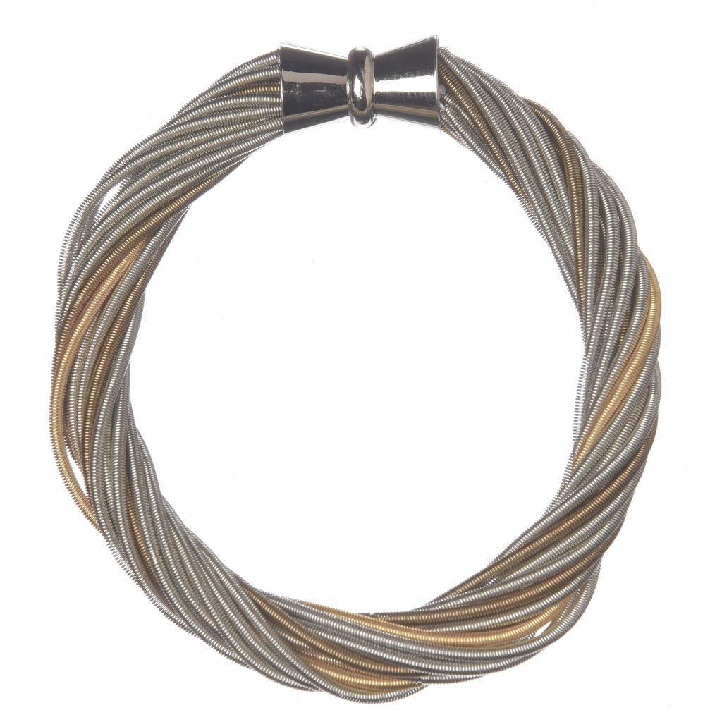 Sea Lily Piano Wire Bracelet