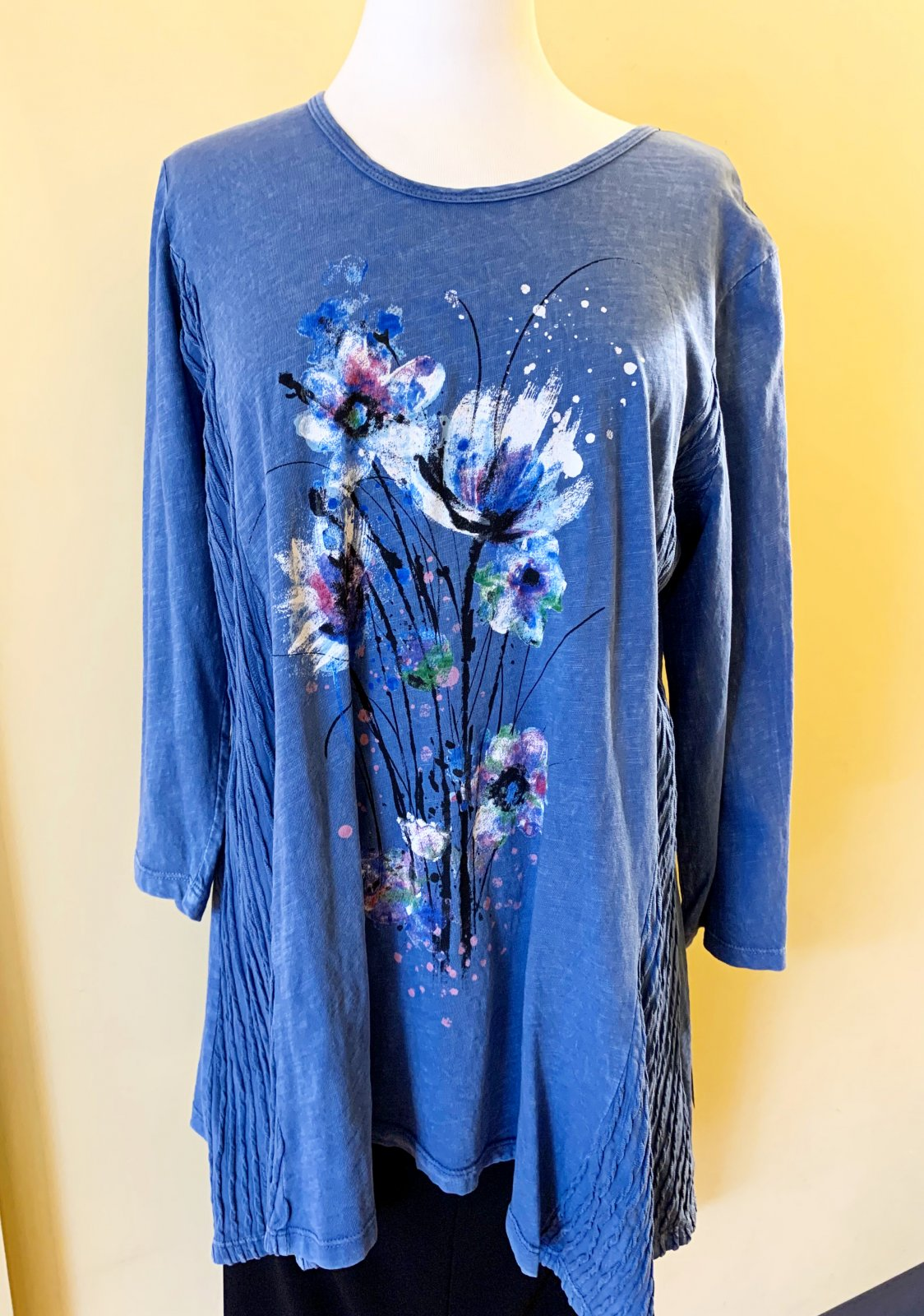 Jess n Jane Floral Tunic Top